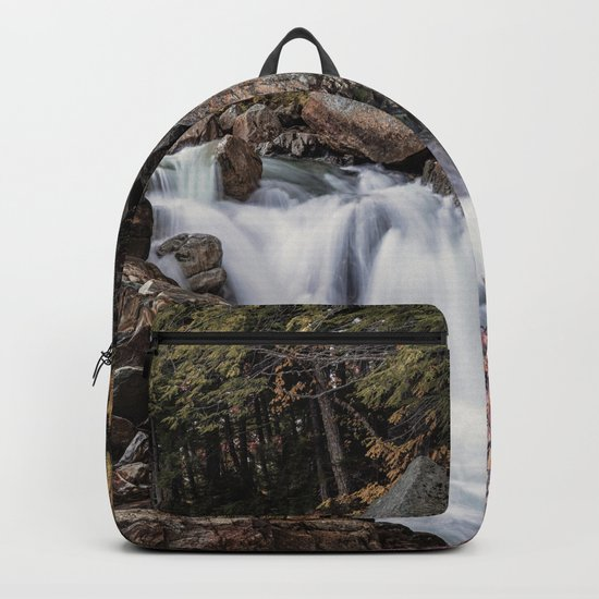 Waterfall at Rocky Gorge Backpack