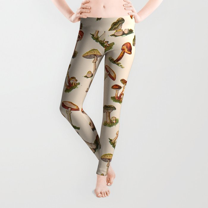 Magical Mushrooms Leggings