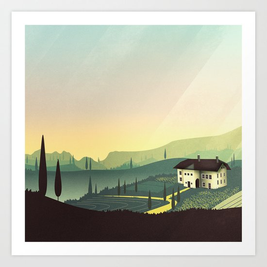 Tuscany Fairytale by mina_burtonesque