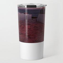 Pathway to the Sea - Sunset image Travel Mug