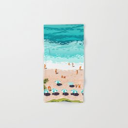 Dream in Colors Borrowed From The Sea #illustration Hand & Bath Towel