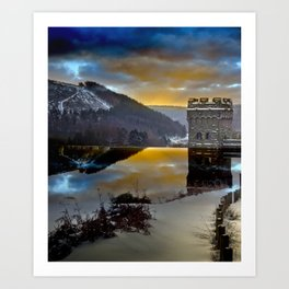 Howden Dawn Art Print