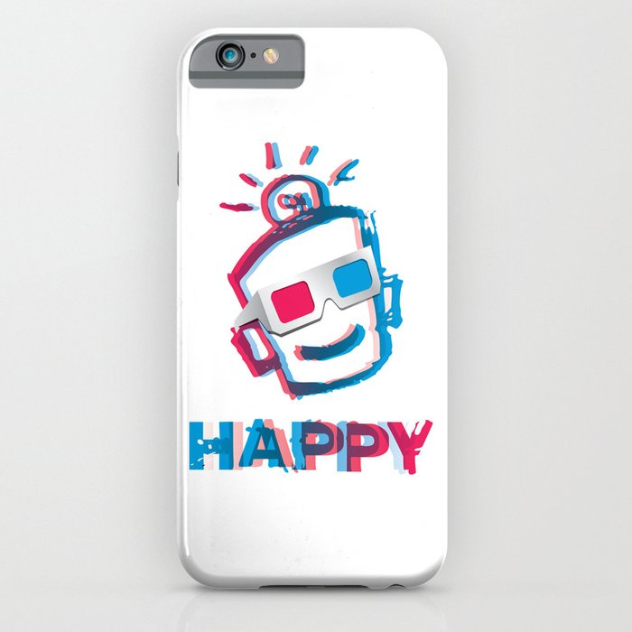 3D HAPPY iPhone Case