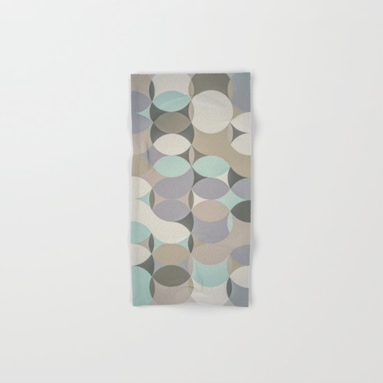 Circles III Hand & Bath Towel