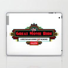 Great Movie Ride Sign Laptop & iPad Skin