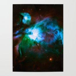 Deep Dark Orion NeBuLa : Hauntingly Beautiful Space Series Poster