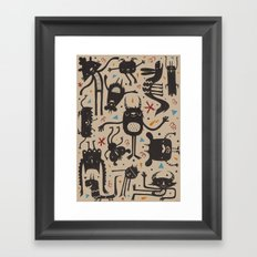 Topsy Turvy - Light Framed Art Print