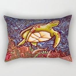 Turtle Power Rectangular Pillow
