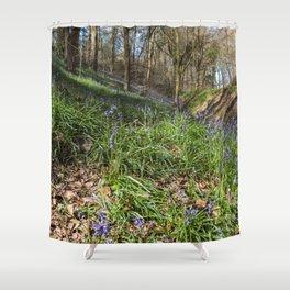 Forest Bells II Shower Curtain
