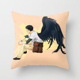 Dumb High School AU Throw Pillow