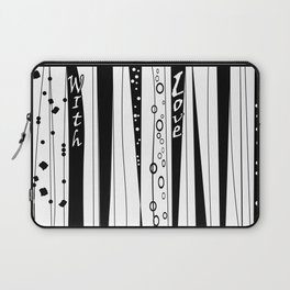 With love .2 Laptop Sleeve