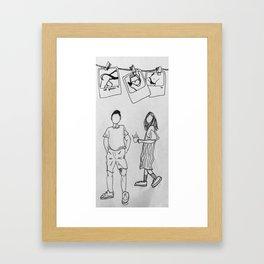 relationship Framed Art Print