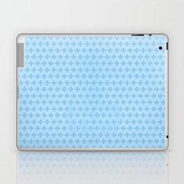 Scandinavian blue Laptop & iPad Skin