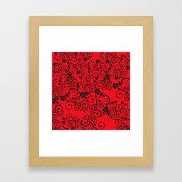 Floral Ornaments Framed Art Print