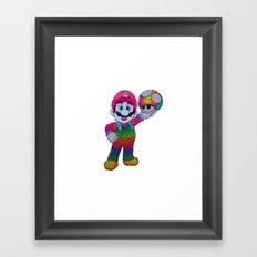 Mario Bros Framed Art Print