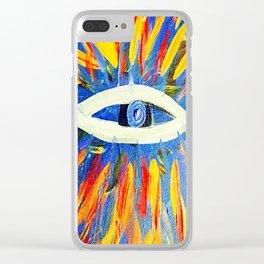 The Thrid Eye Clear iPhone Case