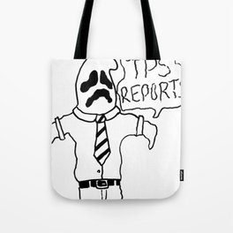 OFFICE GHOST Tote Bag