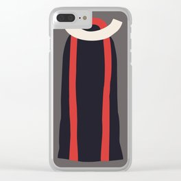 Fashion Designer: minimalist dress Clear iPhone Case