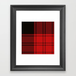 Clan Ewing Tartan Framed Art Print