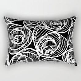 Midnight Roses Rectangular Pillow