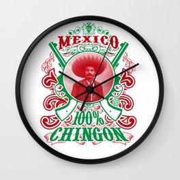 Zapata Color Wall Clock