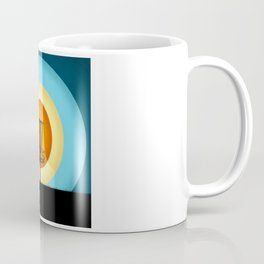 Colorful Disc Golf Basket Coffee Mug