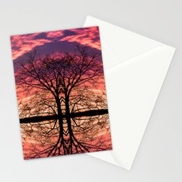 After The Last Leave Falls Stationery Cards
