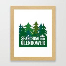 The Raven Boys - Glendower Framed Art Print
