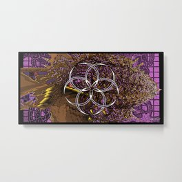 Skunkworks Chrome vol 06 06 Metal Print