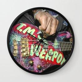 Guitarplayer - Let It Rock Wall Clock