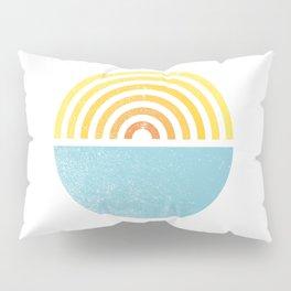 Vinyl Sunset Pillow Sham