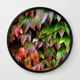 Virginia Creeper Wall Clock