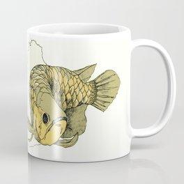 Gold Arowana Coffee Mug