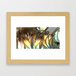 Crystal caves Framed Art Print