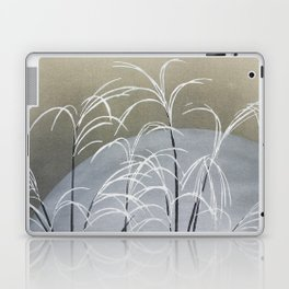 Vintage Minimal Japanse Style Artwork Muted Colors Laptop & iPad Skin