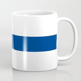 National flag of Finland Coffee Mug