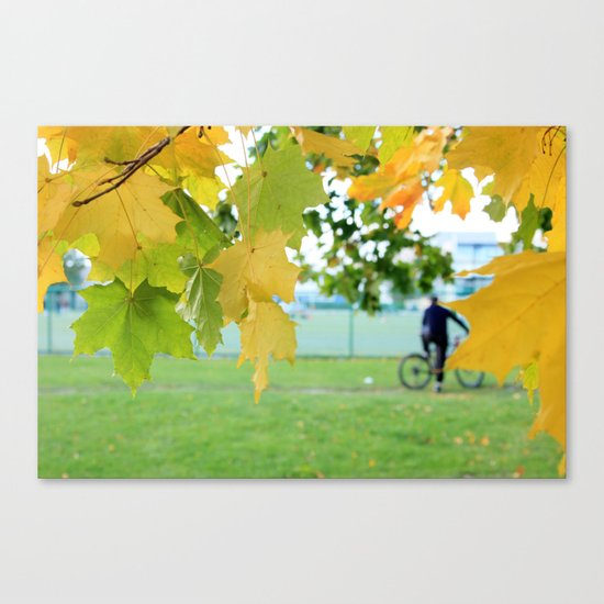 Fall letters Canvas Print