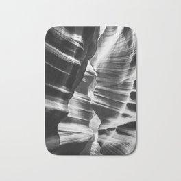 Waves of sandstone at Antelope Canyon Bath Mat