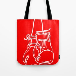 Boxing gloves sports nail training MMA gift Tote Bag