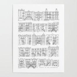 Facades de Plex Montrealais Poster