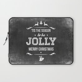 Christmas Chalk Board Laptop Sleeve