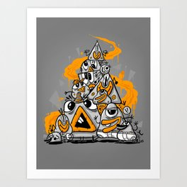 pyRAMIDE Art Print