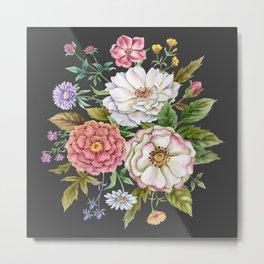 Watercolor Flowers #59 Metal Print