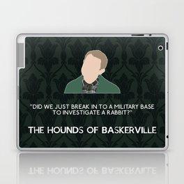 The Hounds of Baskerville - John Watson Laptop & iPad Skin