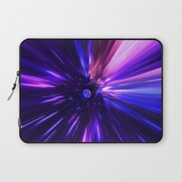 Interstellar, time travel and hyper jump in space Laptop Sleeve