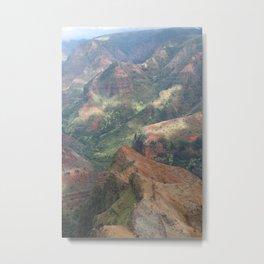 Waimea Canyon Metal Print