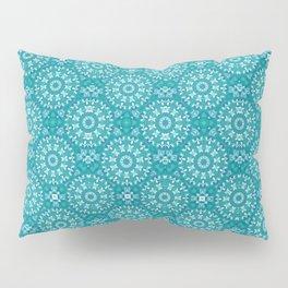 Green circle pattern 3 Pillow Sham