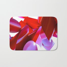 Crimson Fortress Bath Mat