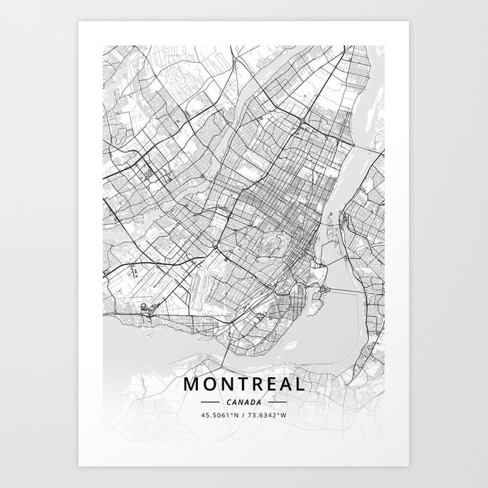 Montreal, Canada - Light Map Art Print by designermapart on map of halifax nova scotia canada, map of okanagan valley canada, map of grande prairie canada, niagara falls, british columbia, quebec city, map of sault ste marie canada, map of us and canada, map of goose bay canada, québec, map of quebec, map of winnipeg canada, map of muskoka canada, map of new france canada, map of kitchener canada, old montreal, montreal canadiens, map of ottawa canada, mcgill university, map of florida canada, map of mont tremblant canada, mexico city, nova scotia, map of gaspe canada, map of newfoundland canada, map of providence canada, map of white rock canada, map of glace bay canada, map of valleyfield canada,