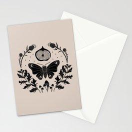Moth, Mugwort & Mushrooms Stationery Cards